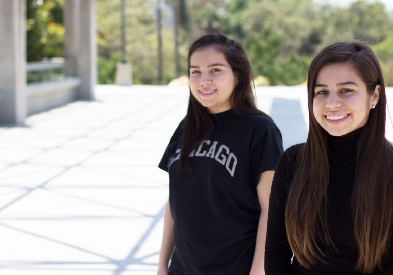 College Scholarship Recipient Sisters in Los Angeles
